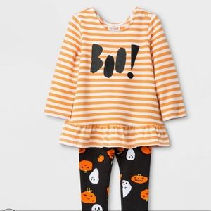 Cat & Jack baby girl Halloween outfit